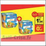 Bon Plan Compotes Naturnes Nestlé chez Auchan - anti-crise.fr