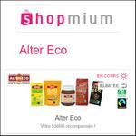 Offre de Remboursement Shopmium : 3€ pour l'achat de 4 produits Alter Eco - anti-crise.fr