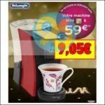 Bon Plan Delonghi : Machine à Thé à 9,05€ chez Intermarché - anti-crise.fr