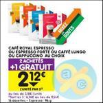 Bon Plan Capsules Café Royal pour Dolce Gusto chez Leader Price - anti-crise.fr