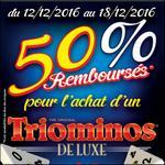 Offre de Remboursement Goliath : 50% sur Triominos - anti-crise.fr