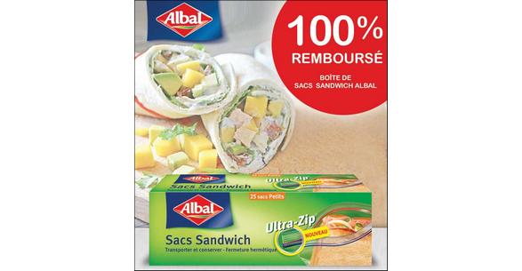 Offre de Remboursement Alabal : Votre boîte de Sacs Sandwich 100% Remboursés sur Quoty - nti-crise.fr