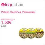 Offre de Remboursement Shopmium : Les Petites Sardines de Parmentier à découvrir pour 1,50€ - anti-crise.fr