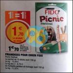 Bon Plan Friandises Fido Picnic chez Super U - anti-crise.fr