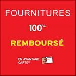 Offre de Remboursement Intermarché : Fournitures Scolaires 100% Remboursées sur votre Carte - anti-crise.fr