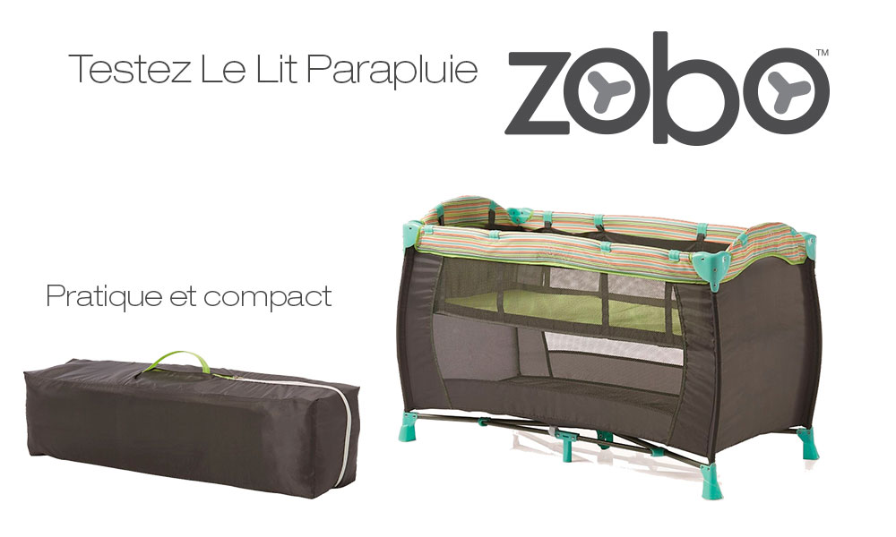 test de produit consobaby le lit parapluie zobo de babies r us. Black Bedroom Furniture Sets. Home Design Ideas