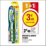 Bon Plan Signal : 2 Brosses à dents à 0,49€ chez Magasins U - anti-crise.fr