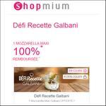 Offre de Remboursement Shopmium : Défi Recette Galbani : Mozzarella Maxi 100% Remboursée - anti-crise.fr