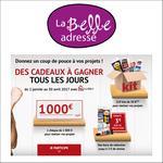 Instants Gagnants La Belle Adresse : 1 chèque d'une valeur unitaire de 1 000€ à Gagner - anti-crise.fr
