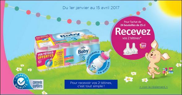 Bon Plan Candia Baby® Croissance : 2 Tétines Offertes - anti-crise.fr