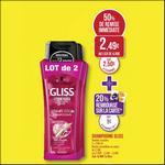 Bon Plan Shampooing Gliss Schwarzkopf chez Match - anti-crise.fr
