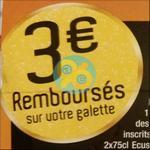 Offre de Remboursement Ecusson : 3€ Remboursés sur votre Galette des Rois - anti-crise.fr