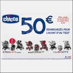 Offre de Remboursement Chicco : 50€ remboursés pour l'achat d'un Trio - anti-crise.fr