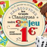Offre de Remboursement Dujardin : 2ème Jeu pour 1€ - anti-crise.fr