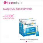 Offre de Remboursement Shopmium : 3€ sur MagnéVie B6® Express - anti-crise.fr