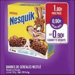 Bon Plan Barres de Céréales Nesquik/Chocapic chez Match - anti-crise.fr