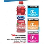 Bon Plan Ocean Spray chez Carrefour Market - anti-crise.fr