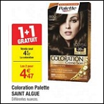 Bon Plan Coloration Palette chez Carrefour - anti-crise.fr