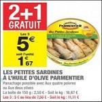Bon Plan Petites Sardines Parmentier chez Carrefour Market - anti-crise.fr