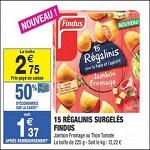 Bon Plan Regalinis Findus chez Carrefour Market - anti-crise.fr