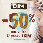 Offre de Remboursement Dim : 50% sur le Deuxième Produit - anti-crise.fr