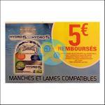 Offre de Remboursement Wilkinson : 5€ sur Les Lames Hydro 5 Sensitive - anti-crise.fr
