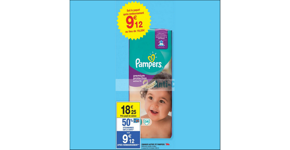Bon plan couches pampers active fit chez carrefour market - Bon de reduction couches pampers a imprimer ...