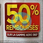 Offre de Remboursement Rubson : 50% sur la Gamme Aero 360° - anti-crise.fr