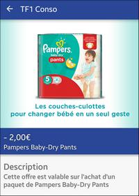 Bon plan couches pampers baby dry pants chez carrefour - Combien coute un paquet de couche pampers ...