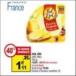 Bon Plan Fromage Fol Epi chez Auchan - anti-crise.fr