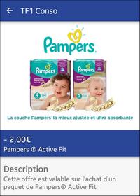 Bon plan couches pampers active fit chez carrefour market - Combien coute un paquet de couche pampers ...