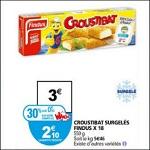 Bon Plan Croustibat de Findus chez Auchan - anti-crise.fr