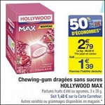 Bon Plan Hollywood Max chez Carrefour - anti-crise.fr