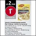 Bon Plan Sauce Maggi chez Intermarché - anti-crise.Fr
