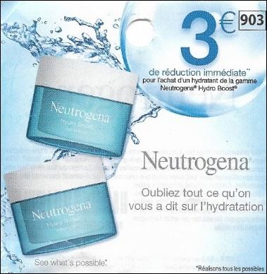 Bon Plan Neutrogena : Soin Hydroboost chez Leclerc - anti-crise.fr
