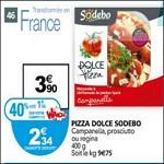 Bon Plan Sodebo : Dolce Pizza chez Auchan - anti-crise.fr
