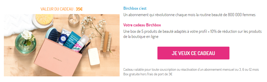 bon plan pandacraft 1er kit offert birchbox beaut valeur 35 en cadeau fdp 0 10. Black Bedroom Furniture Sets. Home Design Ideas