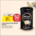Bon Plan Café Nescafé Espresso de Nestlé chez Intermarché - anti-crise.fr