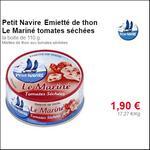 Bon Plan Emietté de Thon Le Mariné Petit Navire Partout - anti-crise.fr