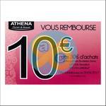 Offre de Remboursement Athena : 10€ dès 30€ d'achats - anti-crise.fr