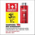Shampoing Men Schwarzkopf chez Carrefour Market - anti-crise.fr