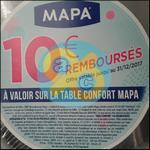 Offre de Remboursement Mapa : 10€ sur La Table à Repasser Confort - anti-crise.fr