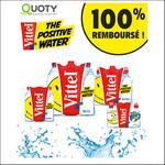 Offre de Remboursement Quoty : Votre Pack Vittel 100% Remboursé - anti-crise.fr