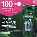 Offre de Remboursement Elsève : Shampoing Phytoclear 100% Remboursé - anti-crise.fr