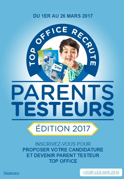 Test de produit top office parents testeurs - Tous testeurs avis ...