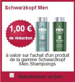 Bon Plan Schwarzkopf : Shampoing Men chez Carrefour - anti-crise.fr