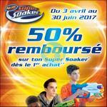 Offre de Remboursement Hasbro : 50% Remboursé sur Nerf Super Soaker - anti-crise.fr