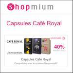4 Offres de Remboursement Shopmium sur Les Capsules Café Royal - anti-crise.fr