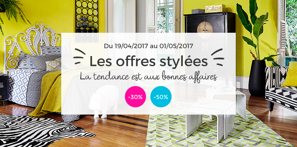 promos web rares jusqu 50 chez maisons du monde. Black Bedroom Furniture Sets. Home Design Ideas