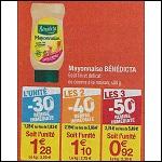 Bon Plan Mayonnaise Bénédicta chez Carrefour - anti-crise.fr